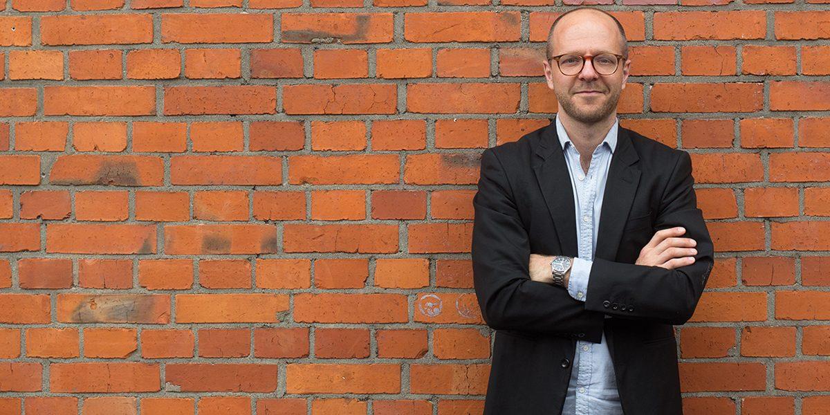 Moderator Kai Schächtele (© Thomas Duffé)